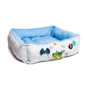 SR! Dog Accessories - Flower with Pee Dog Bed