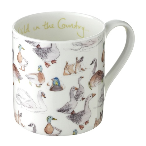 Duck Print Mug