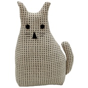 Raine & Humble - Morgan Wright Country Lace Cat Doorstopper Charcoal