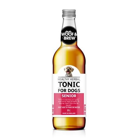 Woof & Brew Senior Herbal Tonic (330ml)