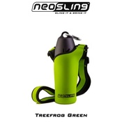H204K9 - Lime Green Water Bottle Sling Holder