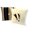 Badger Onyx Stripe Cushion