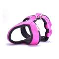 2.5cm Width Fleece Comfort Dog Harness – Fuchsia Pink