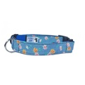 Daisy Denim Dog Collar