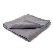 Charley Chau - Double Fleece Dog Blanket - Smoke Grey