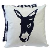 Tomato Catshop - Donkey Butcher Stripe Blue Cushion