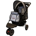 All Terrain Dog Buggy - Black/Silver 2