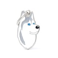 Siberian Husky Engraved ID Tag