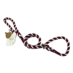 Rope Slip Lead - Boutiful Burgundy