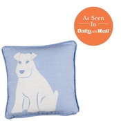 White Rabbit - Dog Cushion