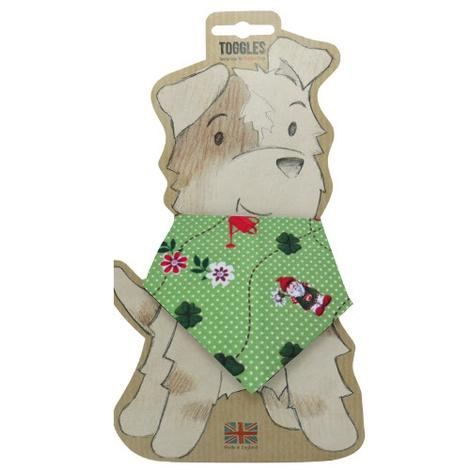 Toggles Garden Gnomes Puppy & Dog Bandana