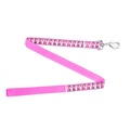 Pink Heritage Stag Dog Lead