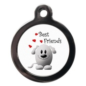 PS Pet Tags - Best Friends Pet ID Tag