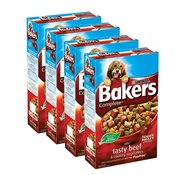 Bakers - Complete Beef & Veg Dog Food x 4