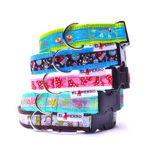 Comix Dog Collar – Monster 2