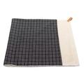 Dog Blanket - Fabric and sherpa wool - Ascot
