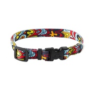 Yellow Dog - Abstract Dog Collar