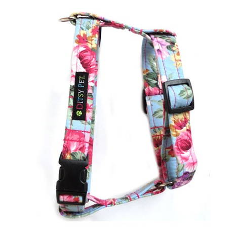 Ditsy Pet Rose Harness