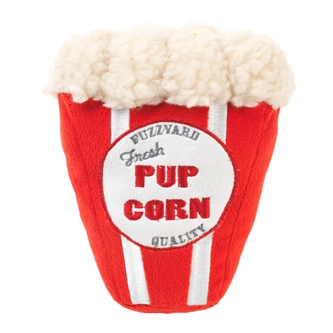 Plush Pupcorn Dog Toy
