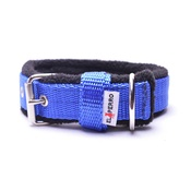 El Perro - 2.5cm width Fleece Comfort Dog Collar – Royal Blue