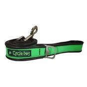 Cycle Dog - Green Max Reflective Dog Lead