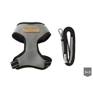 Candy Harness & Lead Set - Grey