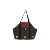 Zu & Lu - Juliette Pet Carrier Bag – Prune