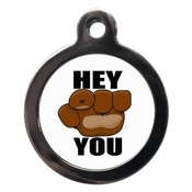 PS Pet Tags - Hey You Pet ID Tag
