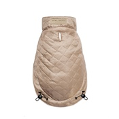 Bowl&Bone Republic - Spirit Quilted Dog Jacket - Gold