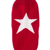 House of Paws - Red Star Jumper for dogs