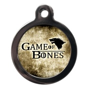 PS Pet Tags - Game of Bones Dog ID Tag
