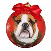 NFP - Bulldog Christmas Bauble
