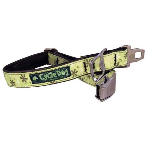 Apple Green Retro Dog Collar