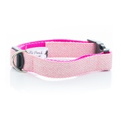 Pet Pooch Boutique - Pink Tweed Collar