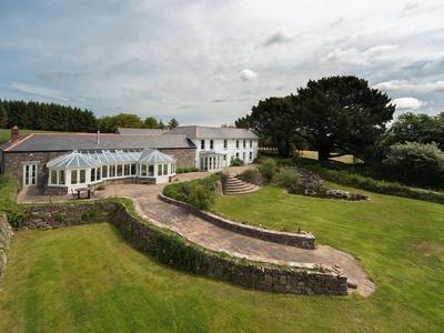 Tregoninny Vineyard and Woodland Farmhouse, Cornwall, Truro
