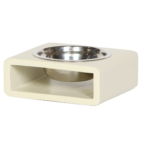 Phorm Dog Bowl - Cream - Small