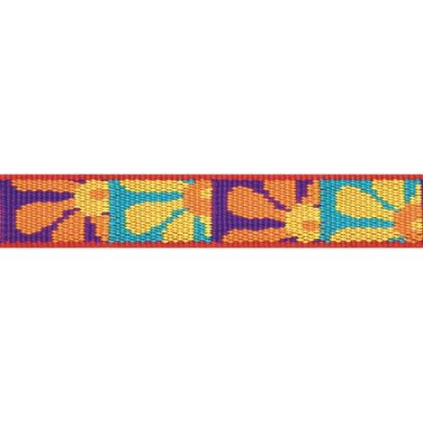 Crazy Daisy Lupine Dog Collar 2