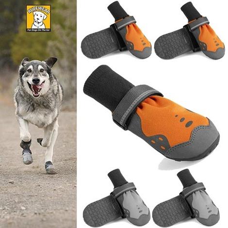 Set of 4 Ruffwear Summit Trex Boots - Storm Grey 2