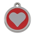 My Sweetie Red Heart Pet ID Tag