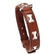 Bobby - Bobby Bones Dog Collar - Brown