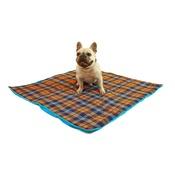 Henry Holland - Henry Holland Blue Tartan Dog Blanket