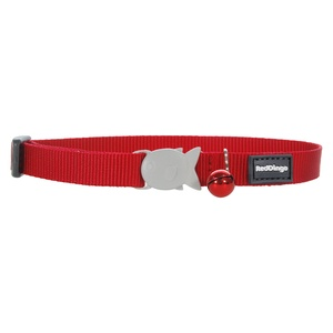 Plain Red Cat Collar