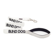 Friendly Pet Collars - White Blind Dog Lead