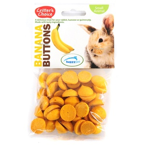 Banana Buttons for Small Pets