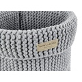 Cotton Toy Basket - Grey 2