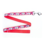 "Pet Pooch Boutique - Garden Of Eden Dog Lead 1"" Width"