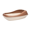 BecoTray Cat Litter Tray - Brown