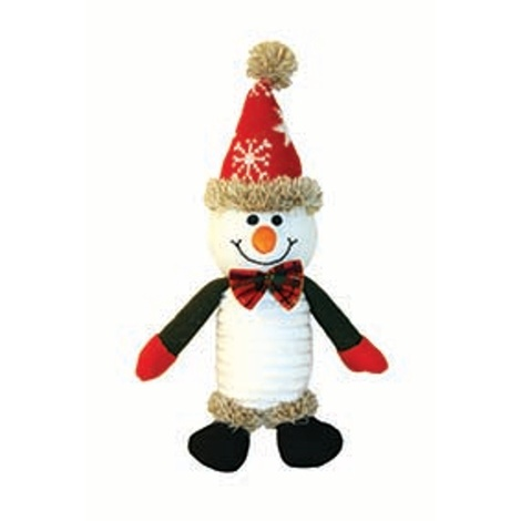 Stanley the Snowman Dog Toy