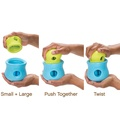 Zogoflex® Toppl Treat Toy – Aqua Blue 3