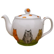 Laura Lee Designs - Cat Teapot